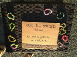 Hand-made bracelets for a cause